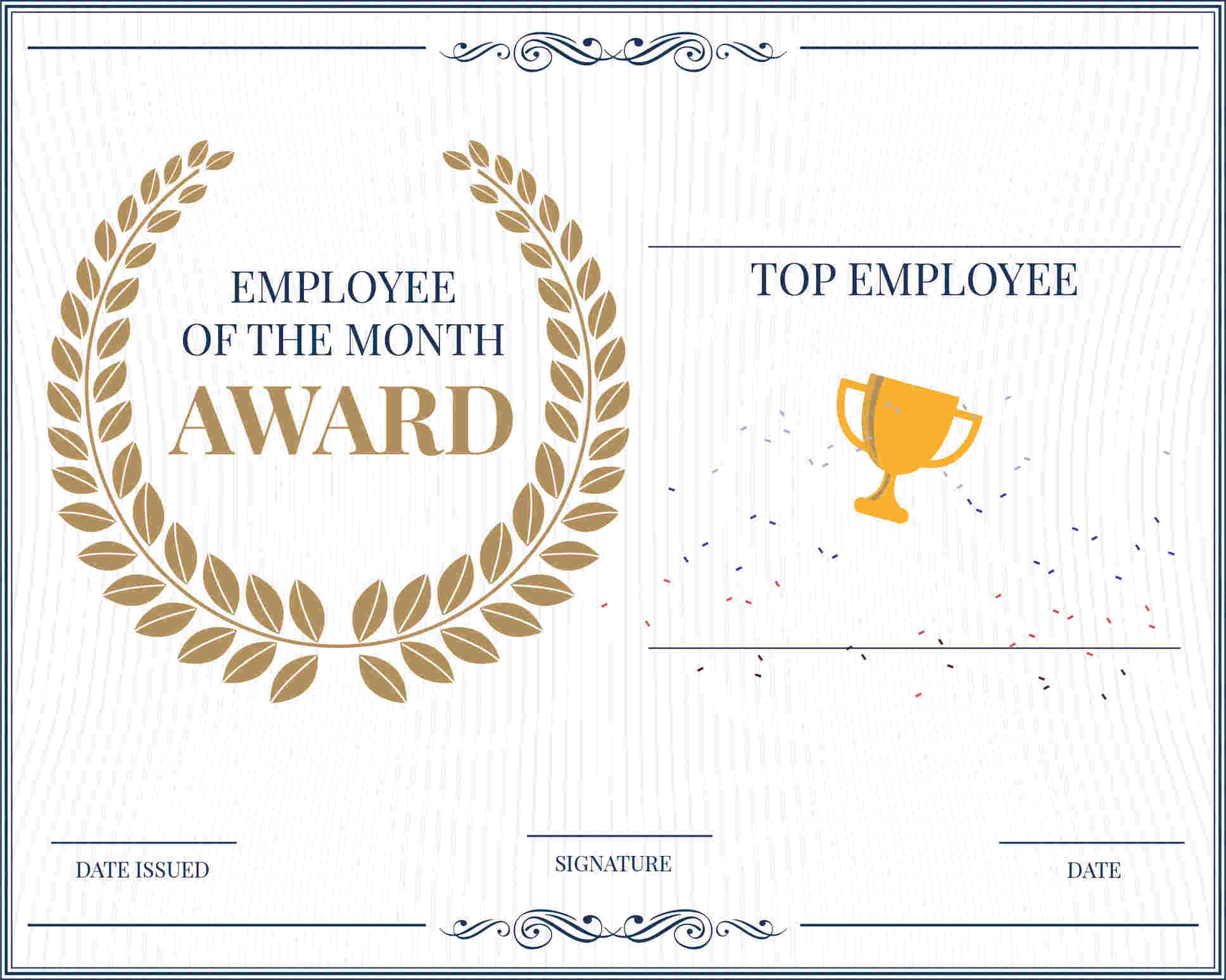 23 Amazing Award Certificate Templates - Recognize Pertaining To Long Service Certificate Template Sample